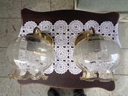 Fali lámpa párban