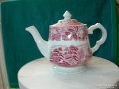 Porcelán teáskanna angol