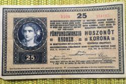 25 korona Osztrák-Magyar Monarchia
