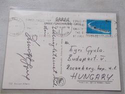 1969.Zsivótzky Gyula olimpia bajnok aláirasa