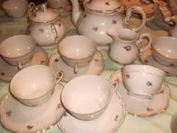 Zsolnay teás készlet nagyon régi