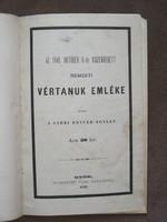 AZ 1849.OKTÓBER 6-ÁN KISZENVEDETT NEMZETI VÉRTANUK EMLÉKE-1879!