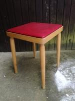 Mid-Century Retro design ülőke puff szék
