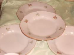 Zsolnay süteményes tányér 4 darab