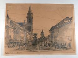 Zádor 1917-es ceruzarajza