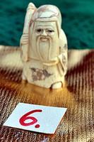 Japán antik Elefántcsont, csont Netsuke akciós áron, visszavonásig. (6)