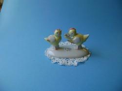 Metzler-Ortloff  német porcelán éneklő csibék