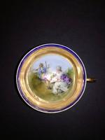 Cseh Altwien porcelán kávés szett 3 db - EP