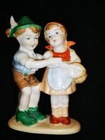 Német gyermek pár