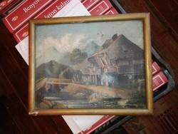 Hollósy Simon eredeti festménye,1912 pénzvisszaváltási garancia.