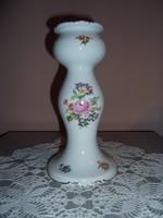 Wallendorf porcelán gyertyatartó
