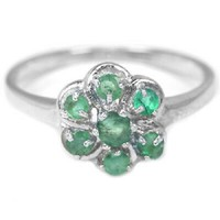 Valodi Termeszetes Smaragd 925 Ezust Gyuru