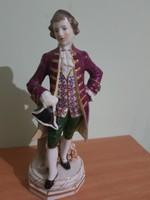 Antik Alt Wien barokkos figura