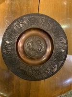 Bronz emléktányér III. Ferdinánd király