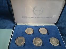 Német kancellár ezüst érme, limitált kiadás, gyűjtői darab (75g) (15g/db)