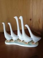 Aquincumi első osztályú libasor porcelán hibátlan állapotban