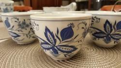 6 darab meisseni mintás Marienbad Ingress Weiss csésze hibátlan állapotban!