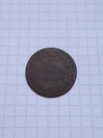 5  Centesimi  Olaszország  1861 !!