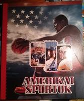 Amerikai sportok. Igényes szép könyv.