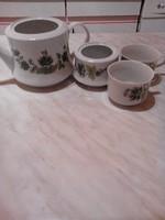 Alföldi porcelán kávéskészlet - hiányos