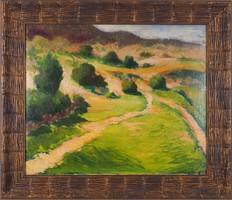 Guzsik Ödön (1902–1954): Dombos táj