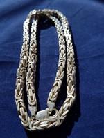 Ezüst királylánc 100 g.-60 cm.