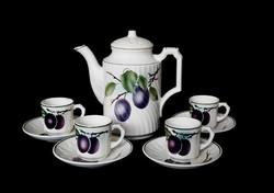 Villeroy&Boch Wallerfangen ritka kávéskészlet 2 személyes