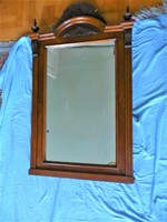 Antik  tükör, Antik fali tükör, 1 m magas