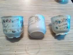 Antik Német porcelán kávés csészék