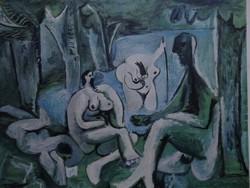 Egyben kettő Picasso eredeti alkotásai!
