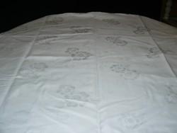 Csodaszép antik vintage hófehér damaszt párnahuzat