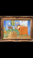Vincent Van gogh -Bed room in Arles  után