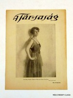 1921 március 20  /  A Társaság  /  RÉGI EREDETI ÚJSÁG Szs.:  7074