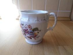 Antik Schlackenwerth szecessziós porcelán bögre 3 dl