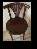 Legyező támlájú szecessziós thonet szék