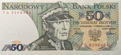 Lengyelország 50 Lengyel Zloty 1986 UNC