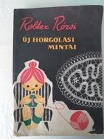Igazi kuriózum - Röltex Rózsi új horgolási mintái - 53 minta leírás