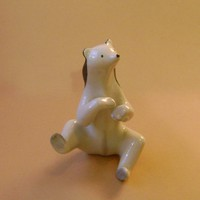 Drasche porcelán Art Deco medve maci
