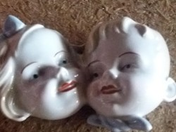 Porcelán régi DDR  figurás