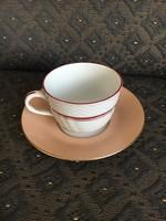Herendi kávés csésze és alj