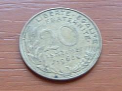 FRANCIA 20 CENTIMES 1965