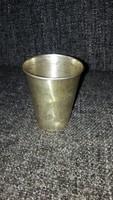 Ezüst keresztelő pohár JENŐ felirattal