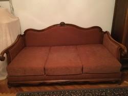 Neobarokk kanapé, ágy