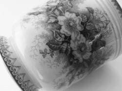 K.G Luneville fajansz kaspó &váza