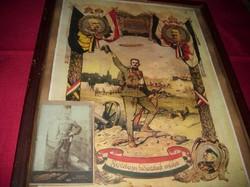 Első világháborús obsit.Másolat