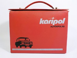 Karipol retro autóápolási box felszerelés