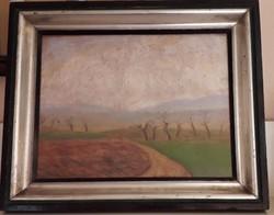 Rippl-Rónai József: Tavaszi tájkép (Bernáth Mária certifikációjával)
