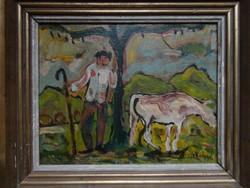 Jakoby Gyula, Július Jakoby: Pásztor