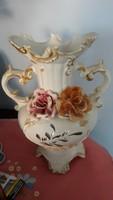 Antik  porcelán  váza  hibátlan   38 cm    12000  ft