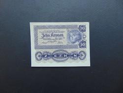 10 korona 1922 Szép ropogós bankjegy